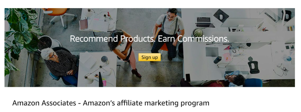 Amazon's affiliate marketing program